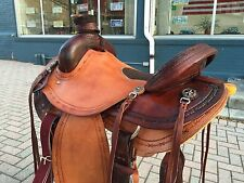 Custom 2-Tone Association Roping Saddle - Ranch/Wade/Training - Made for YOU!!