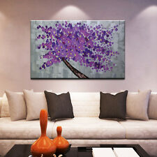 Handmade Oil Painting On Canvas Flower Tree Abstract Landscape Wall Art Pictures