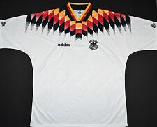1994-1996 GERMANY ADIDAS HOME FOOTBALL SHIRT (SIZE XL)