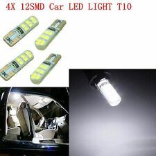 4X T10 12SMD LED Lights 2835 6000K W5W 12V Canbus Car Wedge Side Bulbs Auto Lamp