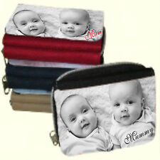 Personalised Ladies Purse Add a Photo, Message, Name - Lovely Xmas Gift for HER