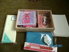 Card Making clearout various items
