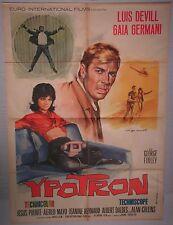 Manifesto YPOTRON 1966 RARISSIMO!!! DEVILL GERMANI PUENTE COLLINS TARANTELLI 2F