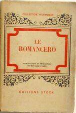 Le Romancero - Mathilde Pomès - Sens et genre du mot Espagnol - 1947