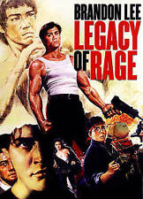 LEGACY OF RAGE (Brandon Lee) DVD [V13]