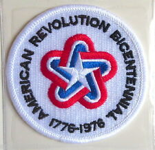 BICENTENNIAL AMERICAN REVOLUTION ANNIVERSARY PATCH Willabee & Ward NFL WORN 1976