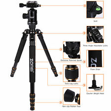 Z668 Portable Magnesium Aluminium Tripod&Monopod with Ball Head SLR camera