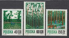 POLAND 1971 **MNH SC#1797/99 Forestry.