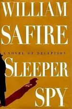 1995-08-22, Sleeper Spy, Safire, William, Very Good, -- , Book