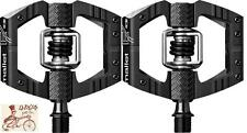 "CRANK BROTHERS MALLET ENDURO BLACK CLIPLESS 9/16"" 3-PIECE CRANK BICYCLE PEDALS"