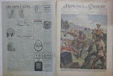 LA DOMENICA DEL CORRIERE 27 febbraio 1938 Duca d Aosta radio a Cannes Cobra di e