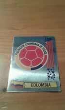 N°58 BADGE LOGO FOIL # COLOMBIA PANINI USA 94 WORLD CUP ORIGINAL 1994