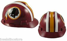 MSA V-Gard Cap Type Washington Redskins NFL Hard Hat Pin type Suspension