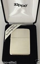 ZIPPO LIGHTER LUXURY SOLID 925 STERLING SILVER #23 1941 REPLICA  MIRROR FINISH