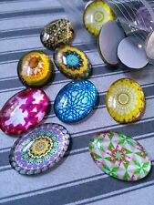 Glass Cabochons Oval 25x18 Assorted Cabochons Oval Cabochons Wholesale