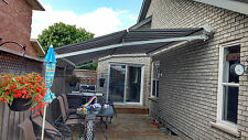 """High quality Motorized Retractable Awning 16' x 11'6"""" with Cassette"""