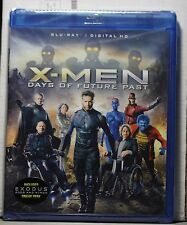 NEW X-MEN DAYS OF FUTURE PAST ON BLU-RAY+HD ULTRAVIOLET! FACTORY SEALED! NO SLIP