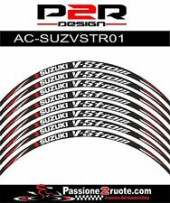 Adesivi cerchi Suzuki DL V-strom 650 1000 striscie ruote whees stickers decals