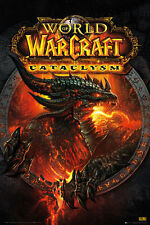 "World Of Warcraft POSTER (61x91cm) ""Cataclysm Gaming Blizzard"" Licensed NEW"