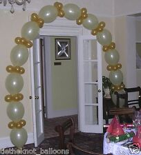 Lien rapide de liaison Ballon DIY party engagement wedding Arch blanc & gold