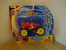 Blaze and the Monster Machines, 2-in-1 Blaze Truck to Race Car. Filp and Race