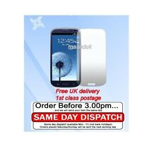 LCD Screen Protector For Galaxy S3 i9300 FILM ultra clear 1st class Royal mail