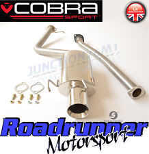 Cobra Sport Lexus IS200 Exhaust System Stainless Steel Cat Back Non Res (LX03)