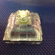 BEAUTIFUL! LENOX CRYSTAL TRINKET BOX WITH BIG PEARL ON LID ~ MADE IN GERMANY