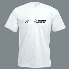 BMW E30 T Shirt M3 top inspired retro drift race car mens gift dad tee tshirt