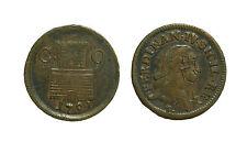 pci3220) Napoli Regno  Ferdinando IV - 9 Cavalli 1791