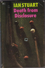 Ian Stuart - Death From Disclosure - 1st/1st Robert Hale 1976 in Jacket, Scarce