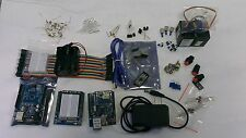 Arduino UNO R3 type board servo & sensor parts   CANADA -  with bluetooth card