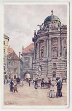AK Wien I, Hofburg, Michaelerplatz, Künstler E. Graner 1910