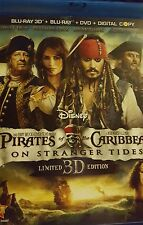 Pirates of the Caribbean: On Stranger Tides (Blu-ray/DVD, 2011, 5-Disc , No DC