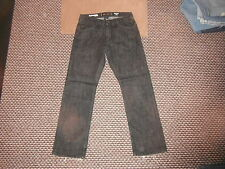 "Express Jeans Rocco Straight Slim Jeans W 30"" L 30"" Black Faded Mens Jeans"