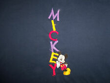 Disney Mickey Unlimited Mickey Mouse Cartoon Navy Graphic T Shirt - XL