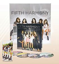 FIFTH HARMONY Better Together 4CD Deluxe Edition POSTER Acoustic JUNTOS Remixes