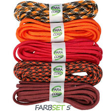 Paracord Starterset Armbänder Farbset 5 - 5x Bänder und Steckschnallen