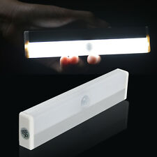 Stick-on Motion Sensor Night Light LED Closet Cabinet Lamp (Battery Powered)