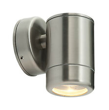 Saxby ST5009SS ODYSSEY Single Stainless Steel outdoor down  IP65 Wall Light