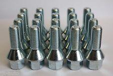 20 X M12 X 1,5 De 30 Mm Cónica, ruedas de aleación Pernos Fit Bmw Serie 3 E36 E46