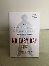 No Easy Day: The Autobiography of a Navy Seal by Mark Owen (2012) HC