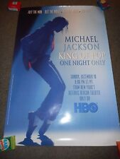 MICHAEL JACKSON - ORIGINAL SS ROLLED PROMO POSTER - THE CONCERT THAT NEVER WAS