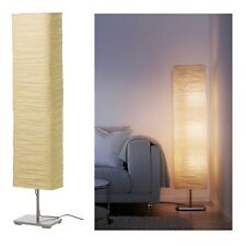 MAGNARP 144 cm Tall Pavimento Morbido Glowing LIGHT Lampada, naturale la Carta di riso Shade, NUOVO