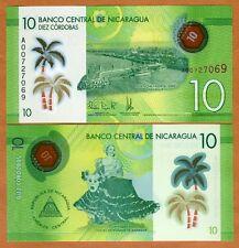 Nicaragua, 10 cordobas, 2014 (2015), Pick New, POLYMER New Design, UNC