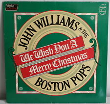 John Williams and the Boston Pops We Wish You a Merry Christmas vinyl LP 1980