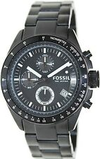 Fossil Men's Decker CH2601 Black Stainless-Steel Quartz Watch