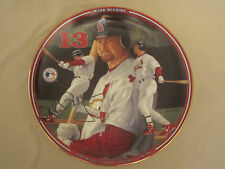 MARK McGUIRE Baseball Collector Plate 400 HOMERS AND COUNTING Home Run Hero