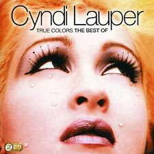 CYNDI LAUPER TRUE COLOURS THE BEST OF 2 CD NEW