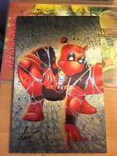 Do You Pooh? #1 Metal Cover Limited Addition Todd McFarlane Spiderman Homage NM+